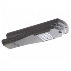 Farola Solar LED 20W. Vista 3D.